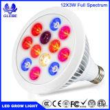El bulbo E27 LED del LED crece espectro completo ligero de 12W 24W 36W