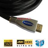 Ethernet 3D 1.4 de los soportes 2.0 cable coaxial de 4k HDMI