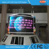 Panneau d'intérieur polychrome d'écran d'Afficheur LED de HD P2.5 pour construire Hall