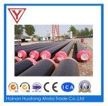 Aislante revestido de calefacción y de enfriamiento del tubo del poliuretano del HDPE resistente