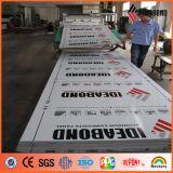 Comitato composito di alluminio variopinto di Ideabond Hotsale PVDF per la parete di Curtaina
