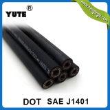 Yute boyau de frein hydraulique de 1/8 pouce SAE J1401 avec le POINT