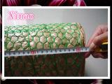 Het plastiek bedekte het Hexagonale Opleveren van de Draad 50m met een laag