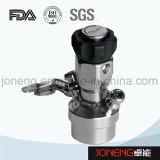 Válvula aséptica soldada higiénica de la muestra del acero inoxidable (JN-SPV2002)