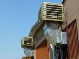 Prezzo evaporativo industriale del dispositivo di raffreddamento di aria di grande formato con la plastica del corpo utilizzata in fabbrica