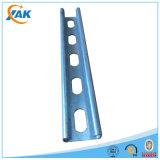 Основное качество гальванизировало прорезанный поддерживая стальной канал c распорки c