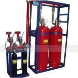 Calibre de pressão do sistema 25mm da luta contra o incêndio FM200