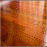 Plancher en bois conçu de Jatoba pour l'usage d'intérieur