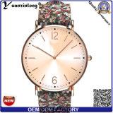 Вахты способа wristwatch женщин моды выдвиженческого нового логоса кварца вахты повелительниц конструкции Yxl-041 изготовленный на заказ прелестно