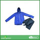 Европейская и американская стильная водоустойчивая куртка дождя Windbreaker