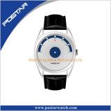 一義的な秒針の日本水晶腕時計が付いている空のラグナットの特別なダイヤル