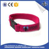 Les bracelets de Silkscreen de polyester d'événements de festival de mode une fois ont employé