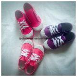 Zapatos de lona calientes de los niños de la venta