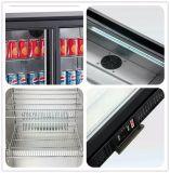 Refrigerador de la barra de la parte posterior del acero inoxidable, refrigerador de la cerveza con la sola puerta