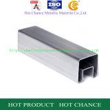 SUS304, inferriata di vetro del tubo rettangolare dell'acciaio inossidabile 316