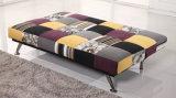 Sofá del asiento de amor del diseño de Morden Cum la base para la venta caliente