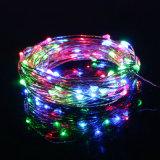 La cadena de hadas del RGB enciende 100 luces accionadas USB estrelladas de las luces de la cadena del LED los 33FT para el dormitorio