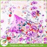 Flor feita sob encomenda rei luxuoso impresso Algodão Fundamento Ajuste