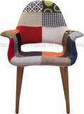 덧대어깁기 직물은 이용된 홈을%s 팔걸이 의자를 완료했다 (CG502)