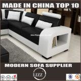 جديد تصميم [هيغقوليتي] يعيش غرفة جلد أريكة ([لز-8001ب])