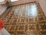 Цветастый разнослоистый пол древесины партера