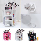 Цветы случая 4 шкафа хранения коробки устроителя состава закрутки 360 градусов косметические