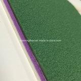 Bwf approuvé PVC Sports Flooring Vinyl Roll pour Badminton Court Grid Pattern
