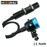 Mais quente! ! ! Hoozhu Hv33 Waterproof 120m Canister Dive Light for Diving Video