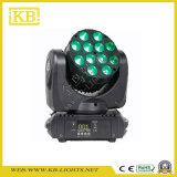 12PCS*10W 쿼드 LED 이동하는 맨 위 광속 빛