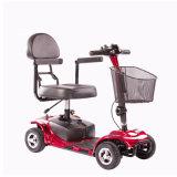 Vespa eléctrica de las ruedas de la caja fuerte 4 para lisiado y personas mayores con el asiento cómodo (MS-012)