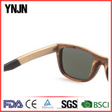 昇進の男女兼用の薄板にされた木製のサングラス
