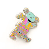 Значок Pin медведя эмали изготовленный на заказ подарка симпатичный