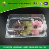 Beschikbare Plastic Cupcake Scharnierende Container