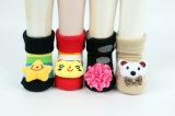 Calcetines interesantes del zapato del desgaste de la casa del algodón de los bebés