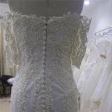 Шикарное платье венчания Mermaid Шампань