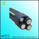 0.6/1kv découvrent le cahier des charges de câble d'ABC de câble d'alimentation isolé par temps système de conducteur