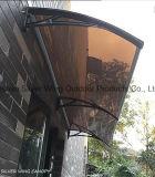 Venta al por mayor plástica del pabellón del toldo del policarbonato del corchete para la puerta principal (YY-M)