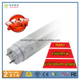 Nm-Shell 150lm/W 270 Gefäß des Grad-Strahlungswinkel-1200mm 18W T8 LED