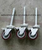 Sichere haltbare verschließbare Fußrollen-Räder von Docoration
