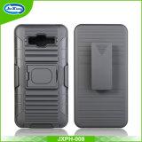 Caso duro magro Shockproof combinado da tampa traseira de telefone móvel da armadura do PC duplo barato da camada TPU do preço para a prima G360 do núcleo da galáxia de Samsung