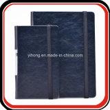 Kundenspezifischer Dreiergruppen-Falz geprägter Notizbuch-Organisator-Planer
