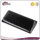 Бумажник крокодила высокого качества Fani чувствительный, мешок деньг женщин, кожа бумажника портмона неподдельная