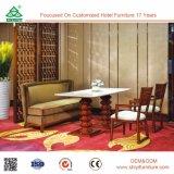 レストランのダイニングテーブルおよび椅子のための骨董品によって使用される食堂の家具
