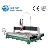 machine de découpage de commande numérique par ordinateur de jet d'eau de machine de découpage en métal 5-Axis,