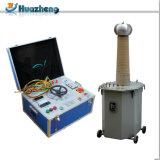 Essai à haute tension sec/pétrole/transformateur gonflable de test