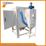 Máquina seca do Sandblasting com plataforma giratória