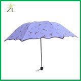 중국 선전용 UV 폴리에스테 직물 도매 싸게 분류된 재고 우산 제조자
