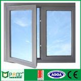 蝶番を付けられるフランス様式アルミニウムかISO9001の開き窓のWindows: 2008修飾した