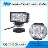 クリー族チップが付いている最もよい価格18W正方形LED作業ライト