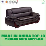 Mobilia di cuoio del sofà di Miami di stile americano